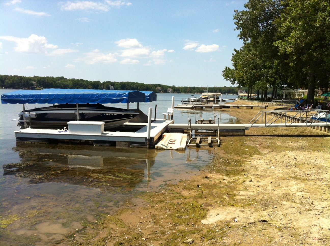 Geist Water Level
